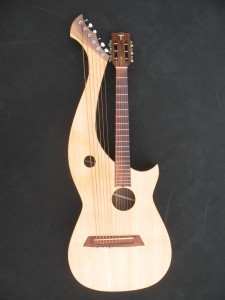 Tonedevil Harp Guitar - Top