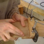 Work Continues at the Tonedevil Harp Guitar Shop Tonedevil Harp Guitars Official Website image 2