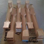 Tonedevil Harp Guitar necks