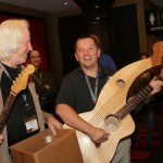 Tonedevil Guitars at the Promax Station Summit Conference in Las Vegas Tonedevil Harp Guitars Official Website image 4