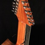 "A-13 ""Arch"" Harp Guitar  Tonedevil Harp Guitars Official Website image 8"