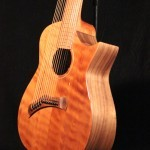 "A-13 ""Arch"" Harp Guitar  Tonedevil Harp Guitars Official Website image 9"