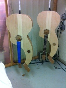harp guitars ready to finish