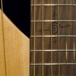 Harp Guitar with Michael Hedges Engraved Spiral Fingerboard Tonedevil Harp Guitars Official Website image 1