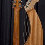 S-12 Harp Guitar with White Pine top Tonedevil Harp Guitars Official Website image 1