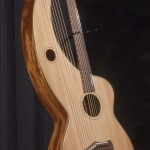 S-12 Deluxe Redcedar and Figured Mahogany Tonedevil Harp Guitars Official Website image 6