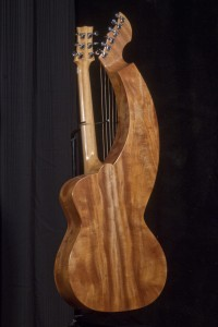 S-12 Deluxe Redcedar and Figured Mahogany Tonedevil Harp Guitars Official Website image 7