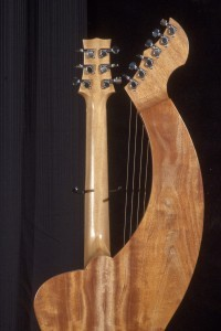 S-12 Deluxe Redcedar and Figured Mahogany Tonedevil Harp Guitars Official Website image 1