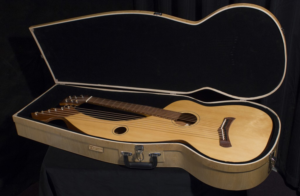 custom harp guitar hard cases tonedevil harp guitars official website. Black Bedroom Furniture Sets. Home Design Ideas