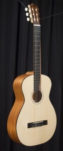 """Feriante"" Signature Classical Guitar Tonedevil Harp Guitars Official Website image 10"