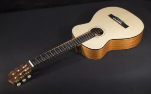 """Feriante"" Signature Classical Guitar Tonedevil Harp Guitars Official Website image 17"