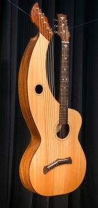 Harp Guitar #100 -A Custom S-12 Build Tonedevil Harp Guitars Official Website image 1