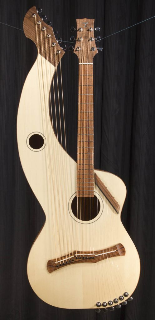 Super Treble Harp Guitars -