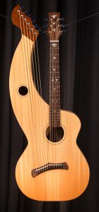 Harp Guitar #100 -A Custom S-12 Build Tonedevil Harp Guitars Official Website image 5
