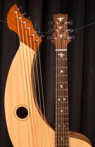 Harp Guitar #100 -A Custom S-12 Build Tonedevil Harp Guitars Official Website image 6