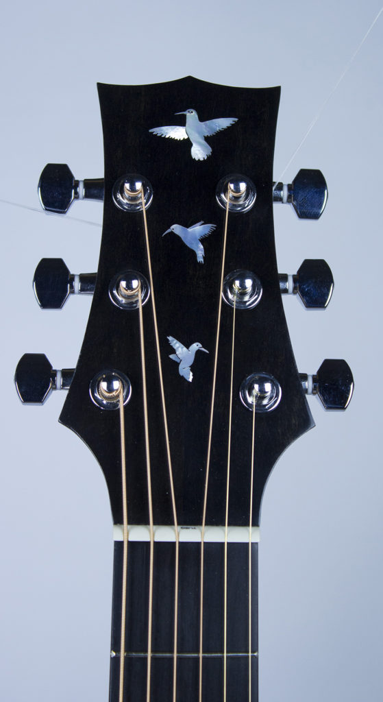 Bird Inlay, Peg head