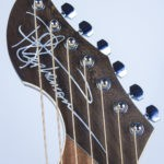 Signature pearl inlay